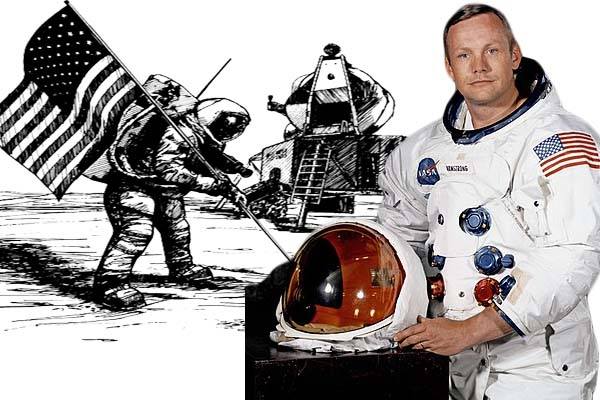 Neil Armstrong Biography in Bengali